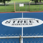 game court line striping evansville