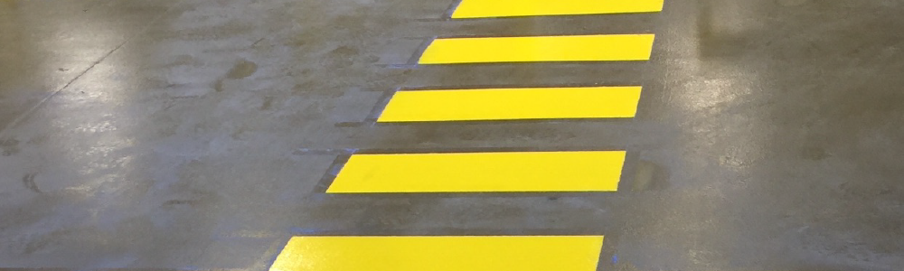 elite line striping warehouse safety evansville